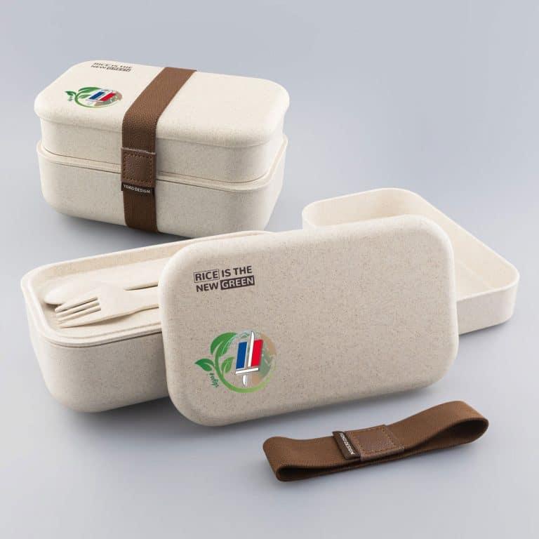 Lunch Box Boîte Repas écologique à Personnaliser