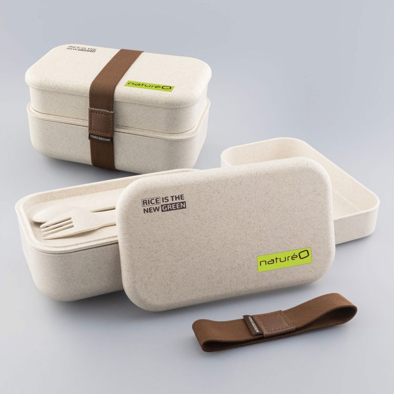 Marquage couleur sur Lunch-Box écologique à Personnaliser