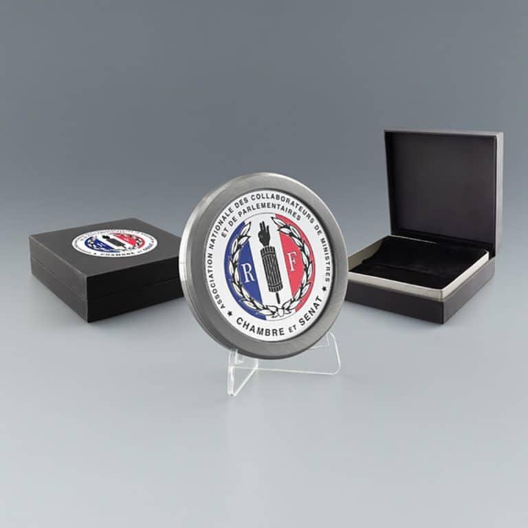 Cadeau d'entreprise, médailles personnalisée
