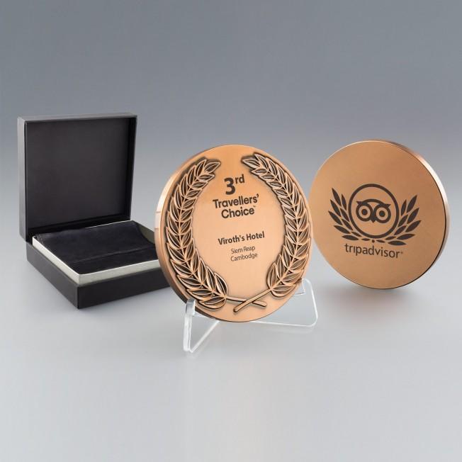 Medaille bronze personnalisée