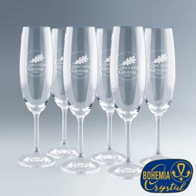 Flûte à Champagne Personnalisée avec Logo
