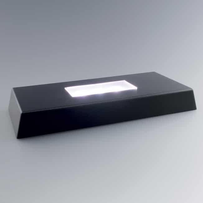Socle Rectangle Lumineux 9 x 2,5 x 20 cm - Eclairage Trophée Personnalisé