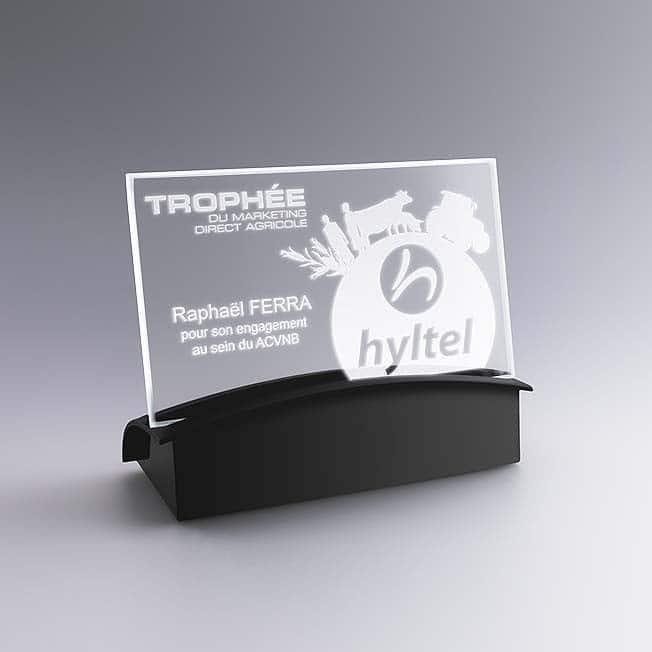 Socle lumineux pour plaque photo personnalisée, Gravure sur verre avec socle lumineux, plaque photo personnalisée