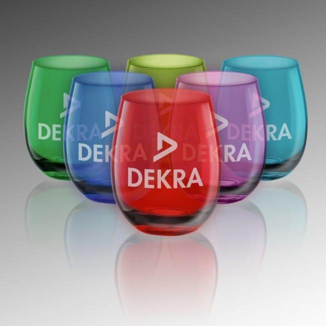 Verres à Boire Colorés Personnalisés x 6 à la couleur